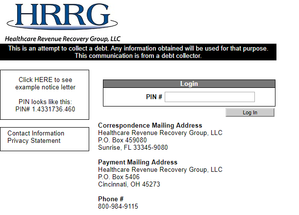 Healthcare Revenue Recovery Group
