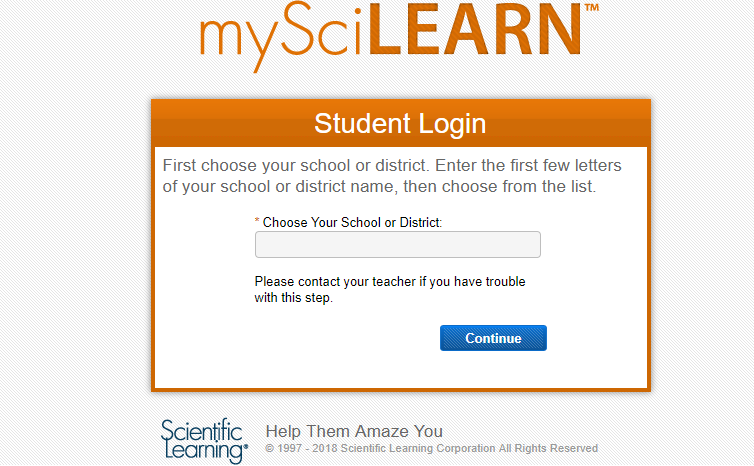 Learner Login Select School