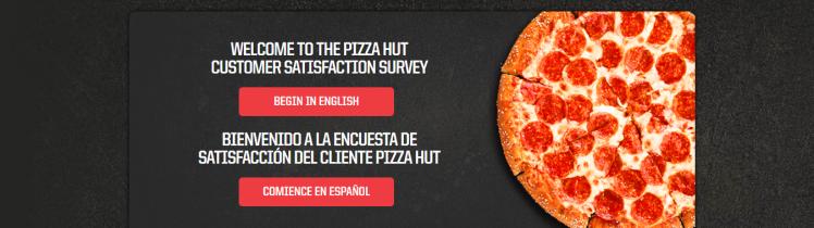 Encuesta de satisfacción del cliente de Pizza Hut