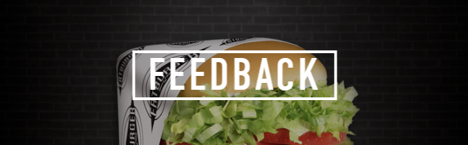 Feedback Fatburger