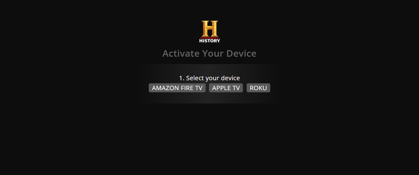 https www history com activate