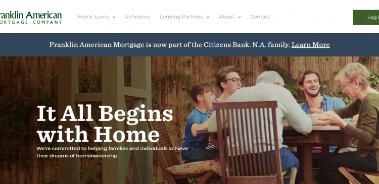 Franklin American Mortgage Company Home