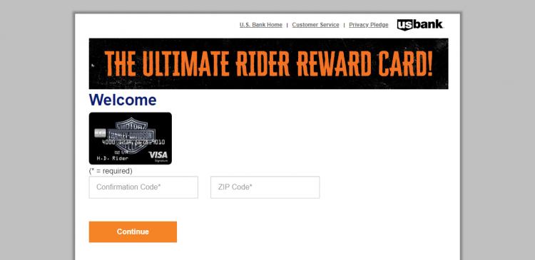 Harley-Davidson Visa Credit Card