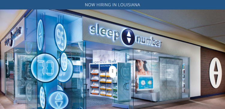 LA Sleep Number Jobs.