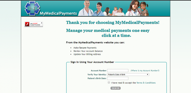 Sign In MyMedicalPayments