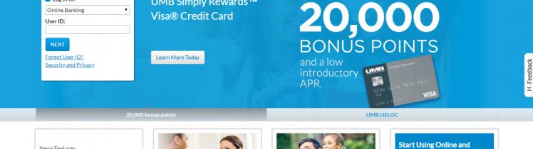 UMB credit card