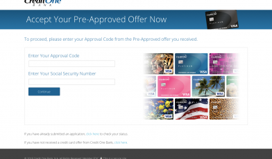 www.hncw9m.com - Accept Your Pre-Approved Credit One ...