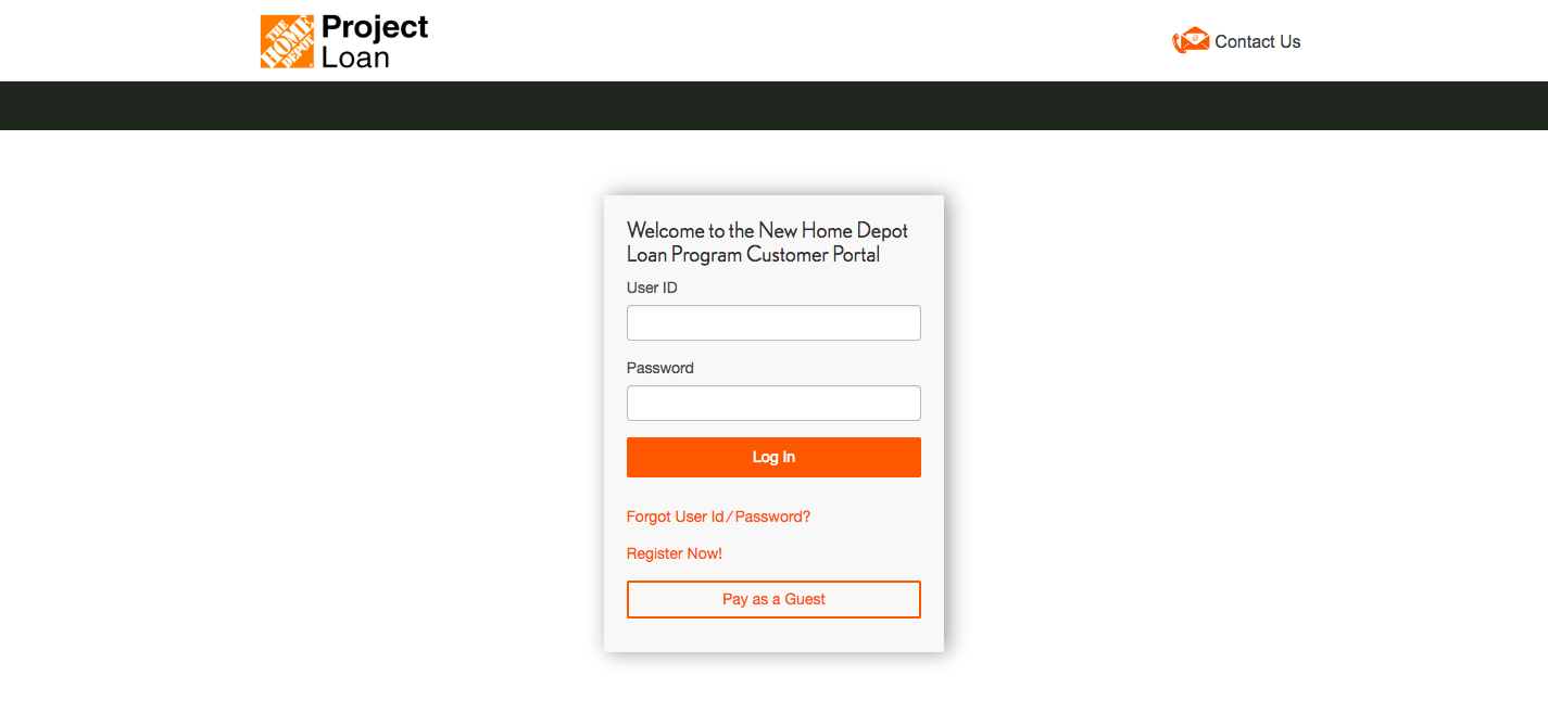 Home Depot Loan Program