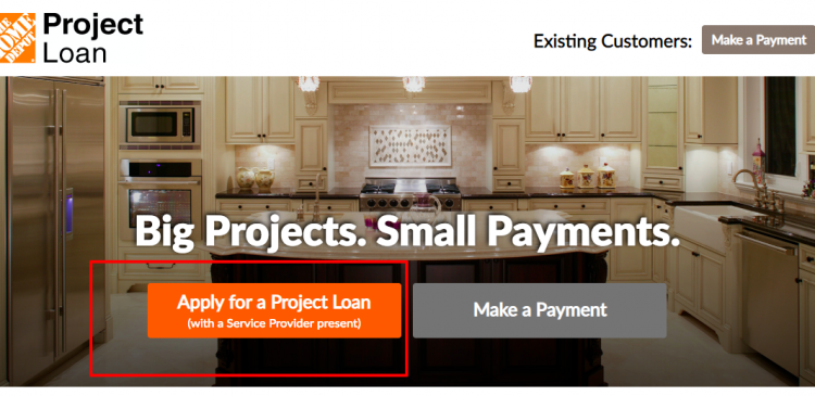 Home Depot Loan Services