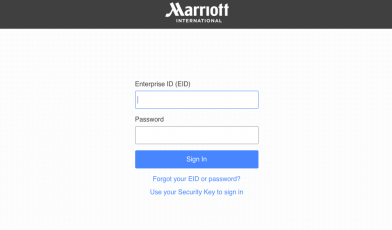 Marriott Extranet Login