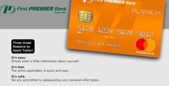 www.mypremiercreditcard.com - Login to Your First Premier Bank