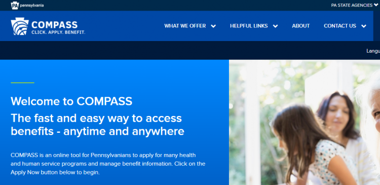 www compass state pa us - How To Renew Benefits In COMPASS HHS