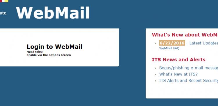 Penn State WebMail Logo