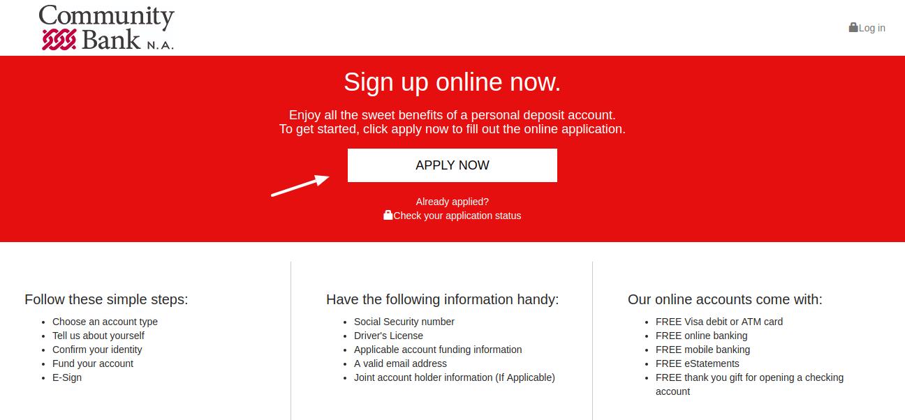 Consumer-Community-Bank-Apply-Now