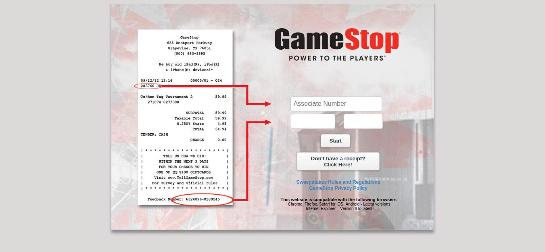 GameStop-Customer-Experience-Survey