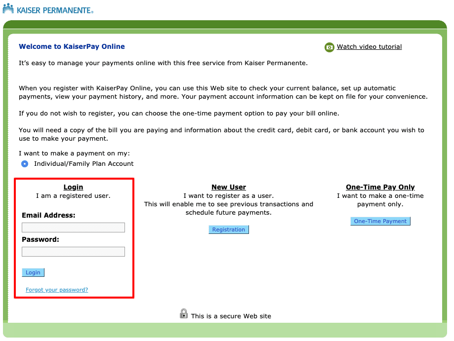 kaiserpermanente org/payonline - kaiser Permanente bill pay - Ladder Io