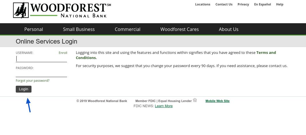 woodforest-login