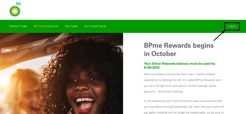 Driver Rewards Login