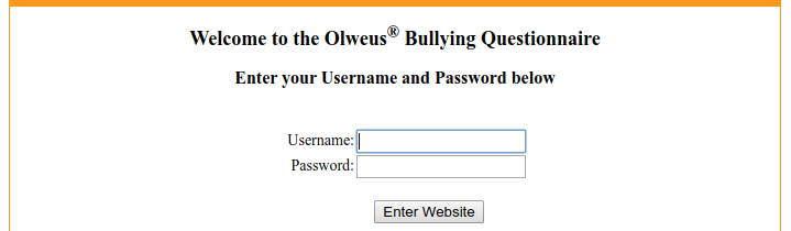 Olweus Bullying Questionnaire Logo