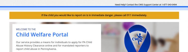 Pennsylvania Child Welfare Logo