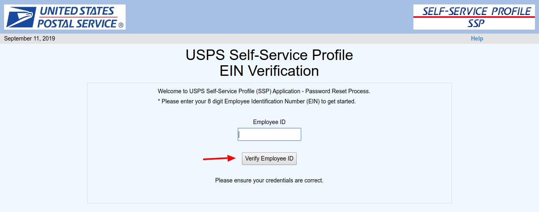 SSP EIN Verification