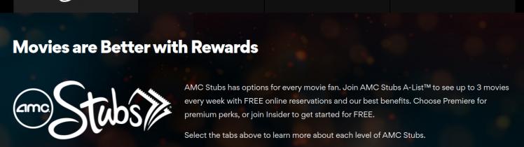 AMC Stubs Logo
