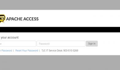 TJC Apache Access
