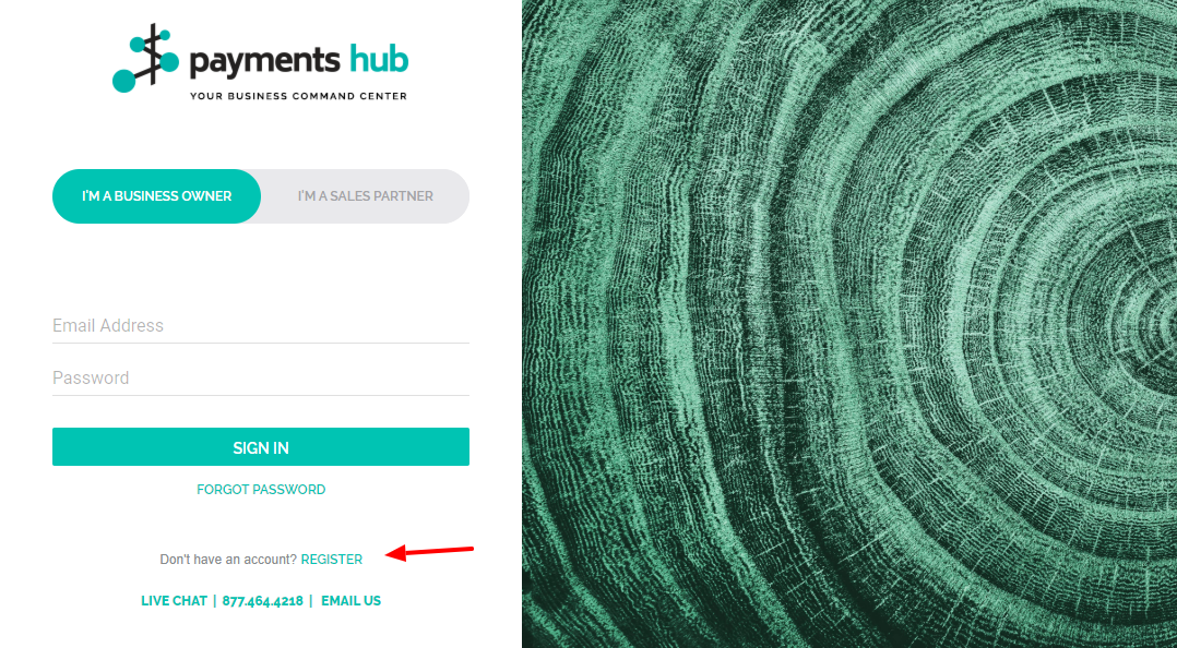 Payments Hub Register