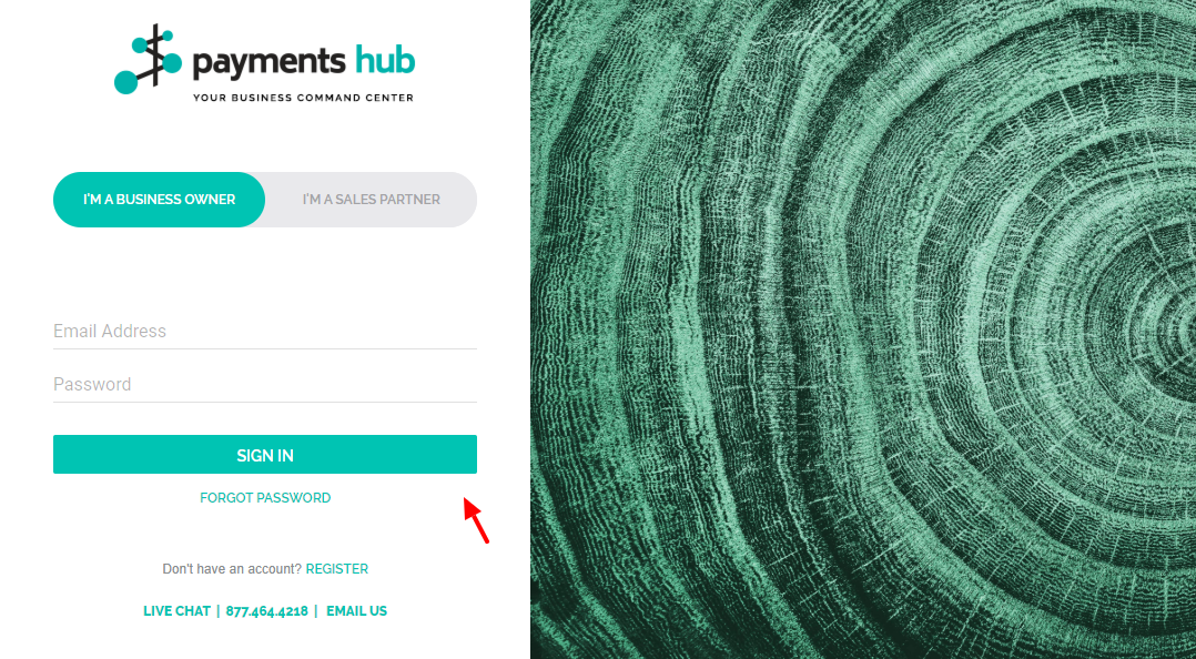 Payments Hub Sign In