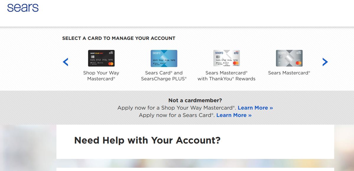 www.searscard.com - Login To Sears Credit Card Account - Ladder Io