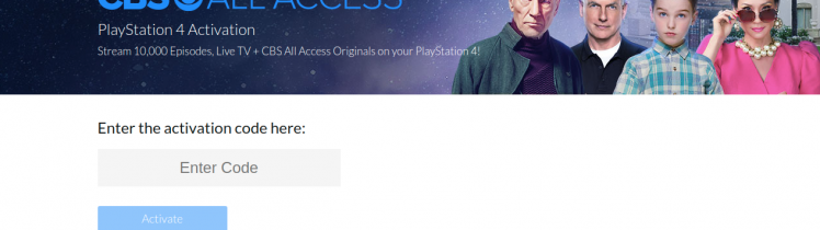 Activate PlayStation 4 Device Logo