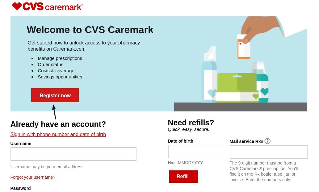 CVS Caremark Register