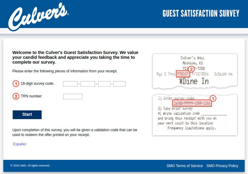 Culver  Guest Survey