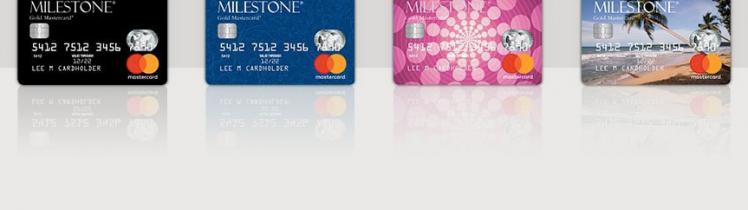 milestone gold card logo