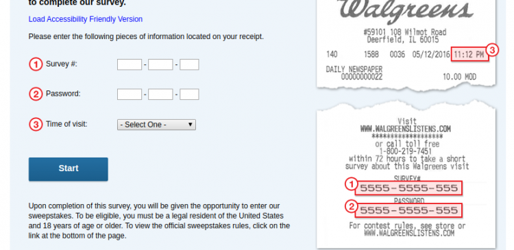 Walgreens Customer Satisfaction Survey