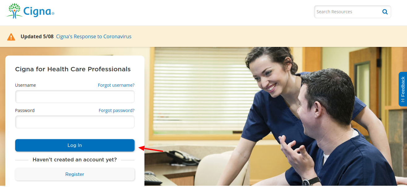 Cigna Health Care Login