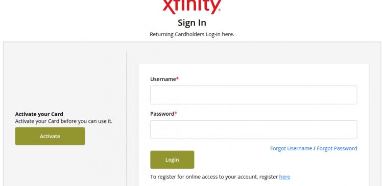 Xfinity Mobile Card Logo