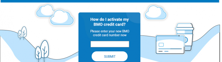BMO Credit Card Activate Logo