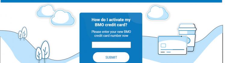 BMO Credit Card Activate Logo
