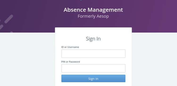 Aesop Sign In