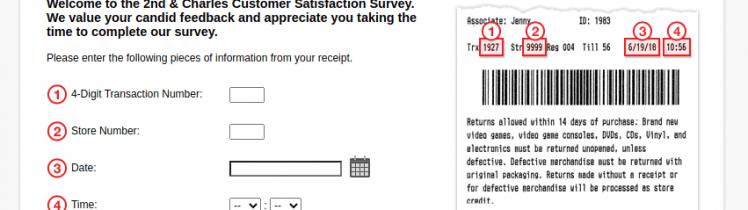 2nd Charles Customer Survey