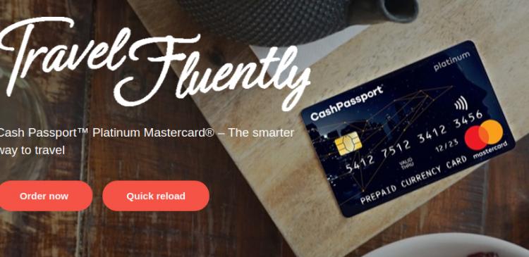Cash Passport MasterCard Logo
