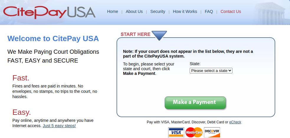 CitePayUSA bill pay