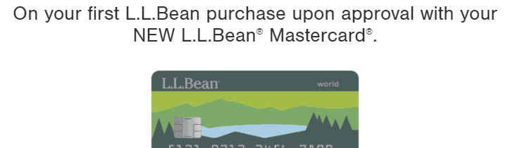L L Bean Credit Card Logo