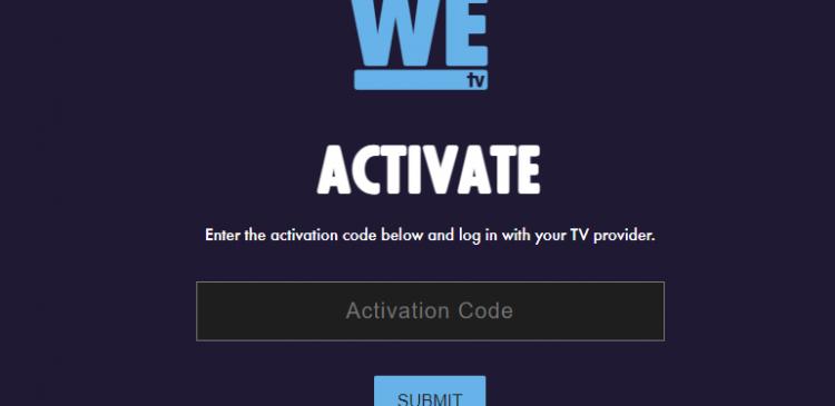 We tv Activate