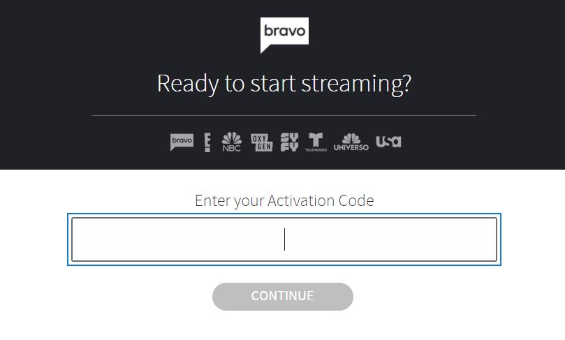 Bravo TV Activate