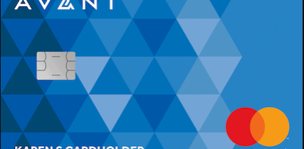 avant card activate logo