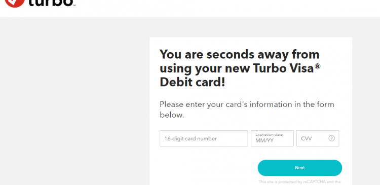 turbo prepaid card activate