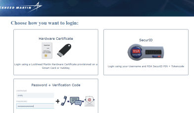 Lockheed Martin Login