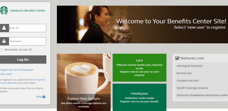 Starbucks Login
